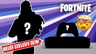 NEW Fortnite EXCLUSIVE Skin! 😱 SO SO YOU COME!