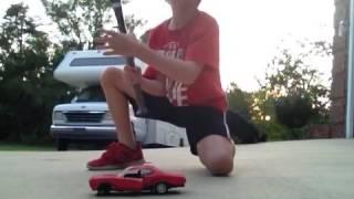 DESTROYING A TOY CAR PART 2!!!!!!!!!!!!!!