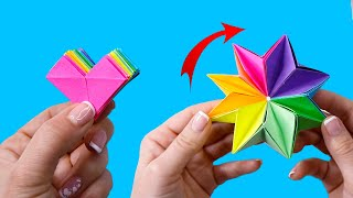 как сделать новые оригами из бумаги