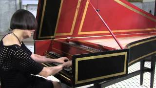 Haydn Harpsichord : Elaine Comparone plays 2nd & 3rd movements of E minor Sonata