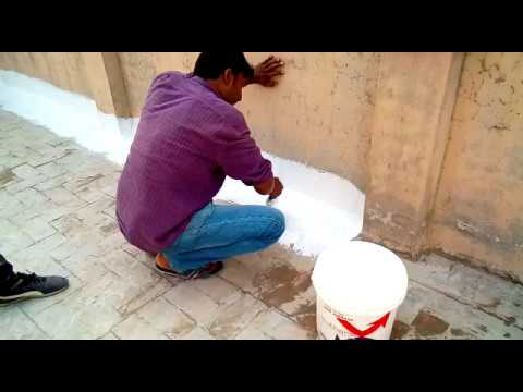 """Roof Treatment, To Prevent Heat & Water With Nano Ceramic Thermal Insulation Coating """"isothane"""""""