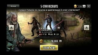 Walking Dead: Road To Survival - Epic Dispel Clementine Pack + Telltale + 5 Star Recruit Opening!!