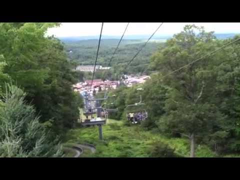 Camelback Ski Lift Ride