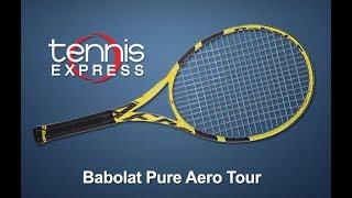 Babolat 2019 Pure Aero Tour Tennis Racquet Review | Tennis Express