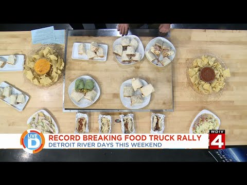Live In The D: Get ready for the record breaking food truck rally