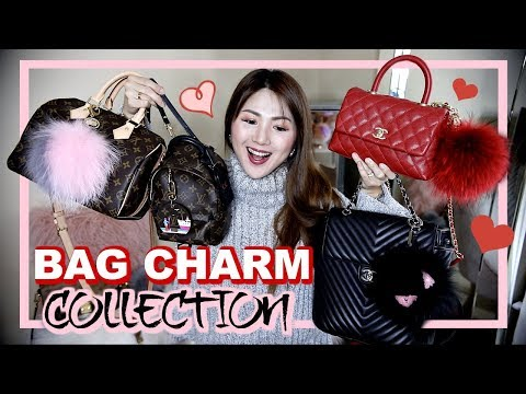 MY BAG CHARM COLLECTION 💖 HOW TO DRESS UP 👜🎀🎒  CHARIS ❤️