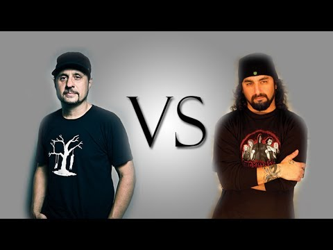 EPIC DRUM BATTLE - Dave Lombardo Vs Mike Portnoy