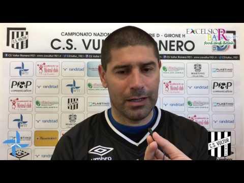 Potenza Calcio vs C.S. Vultur: Le interviste pre gara