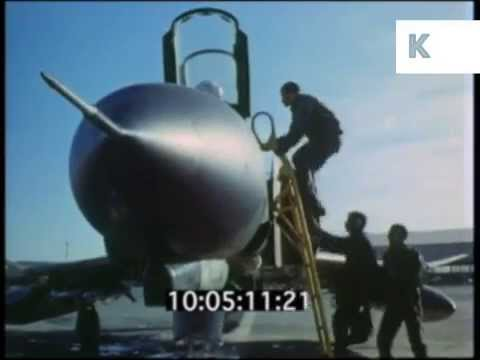 1970s Iran, Phantom Jet Pilots Scramble, Military, Archive Footage