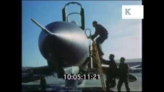 1970s Iran, Phantom Jet Pilots Scramble, Military, Archive Footage