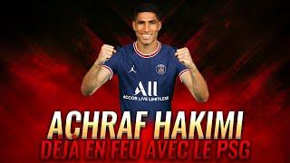 PSG-Séville : Achraf Hakimi déjà en feu !