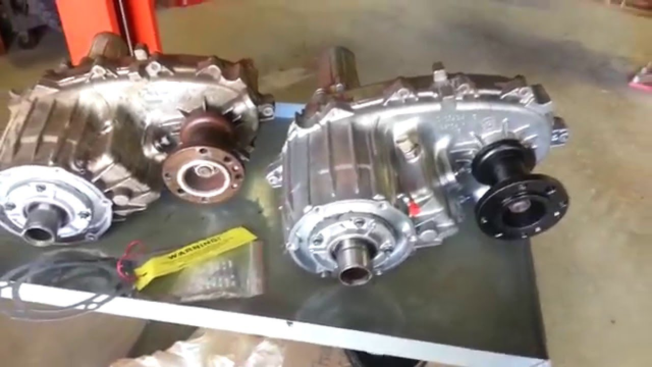 Kim G's Omega Transfer Case by Monster Transmission in his Chevy K3500