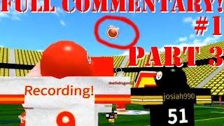 BEATING 2V1 MOSS!!! [Full Commentary #1 Part 3/4] Roblox (Legendary Football)