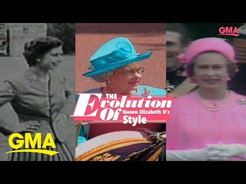 The evolution of Queen Elizabeth II's style