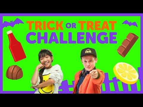Trick or Treat Challenge with The KIDZ BOP Kids