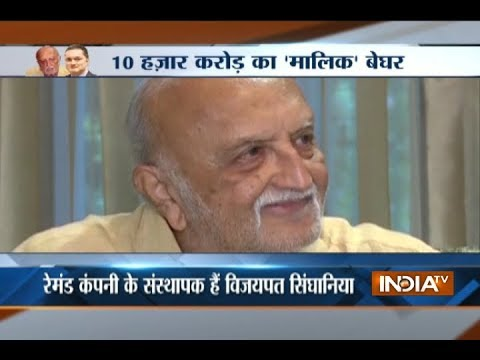Ex-Raymond tycoon Vijaypath Singhania stands against son Gautam over property dispute