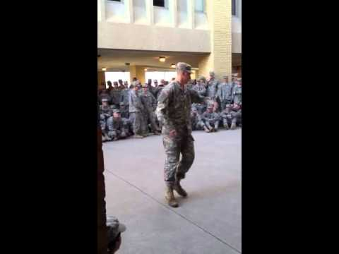 Dance off Army Style