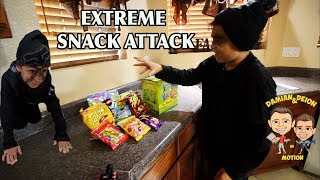 EXTREME SNACK ATTACK | AVOID THE TRAPS | D&D SQUAD BATTLES