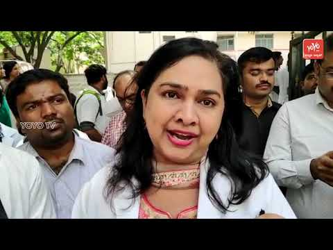 Bangalore Medical College  Doctor's Protesting At Victoria Hospital Campus | YOYO Kannada News
