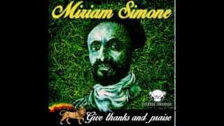 Miriam Simone  Give Thanks and Praise [Single]