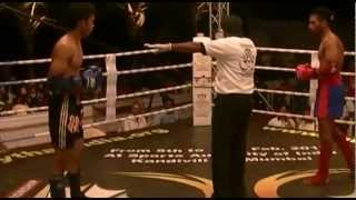 muaythai hyderabad vpg faizan vs mumbai super fighte league fighter irfan khan