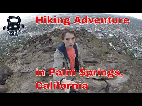 Hiking Adventure in Palm Springs, California