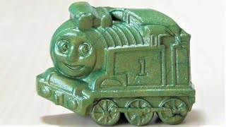 Thomas & Friends Made of magnet slime with Wooden Railway RiChannel