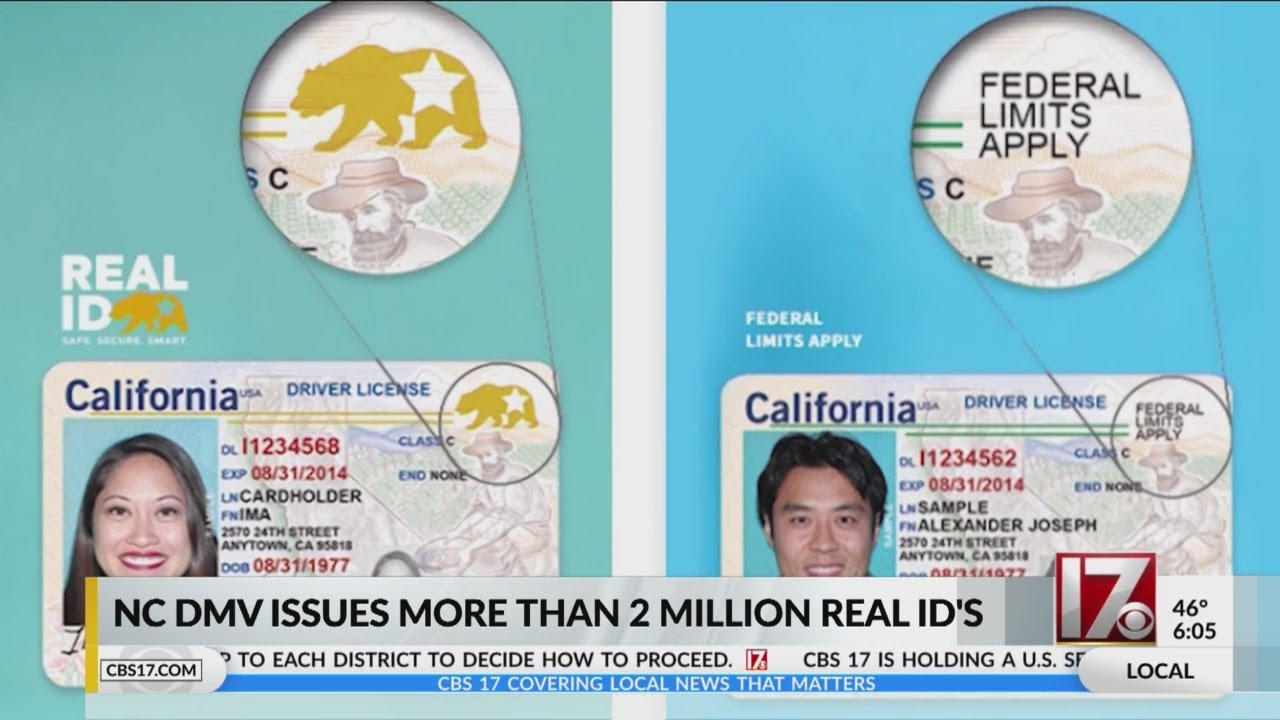 NCDMV has issued more than 2 million REAL IDs