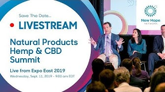 2019 Natural Products Expo East - Hemp & CBD Summit