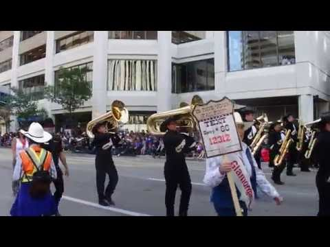 Calgary Stetsons Marching Band (Calgary Stampede  2016)