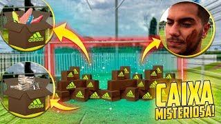 O GOL INTEIRO DE CAIXAS MISTERIOSA DA ADIDAS!! ( dinheiro, chuteira, castigo, roupas )
