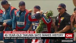 Takuma Sato, Fernando Alonso shine at 2017 Indy500