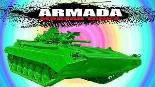 ARMADA WORLD OF MODERN TANKS Merkava Мульт танки Онлайн игра Боевые машинки.Бои танков Видео