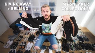 SELLING + GIVING AWAY MY ENTIRE SNEAKER COLLECTION!!!