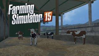 Farming Simulator 2015 Sezon 1 #15 Ogarniamy zwierzęta ANKIETA OPIS!!!!