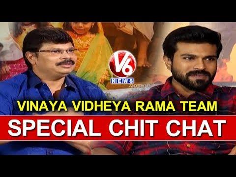 Vinaya Vidheya Rama Movie Team In Special Chit Chat | Ram Charan | Boyapati Srinu | V6 News