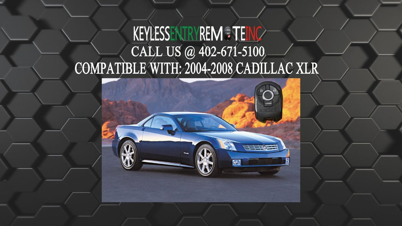 How To Replace Cadillac Xlr Key Fob Battery 2004 2005 2006 2007 2008