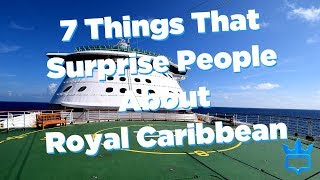 7 Things That Surprise People on Royal Caribbean