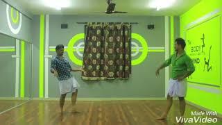 Jimikki Kammal dance choreography | double action version | Velipadinte Pusthakam | Mohanlal