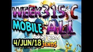 Angry Birds Friends Tournament All Levels Week 315-C MOBILE Highscore POWER-UP walkthrough