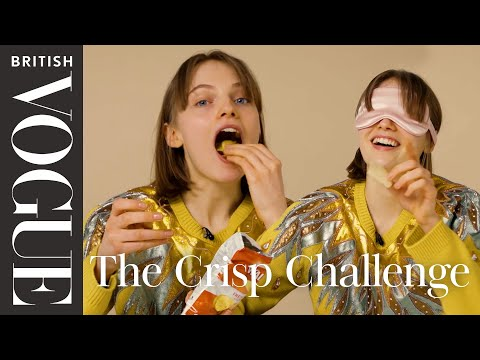 The Crisp Challenge with Fran Summers | Vogue's Taste Test | British Vogue