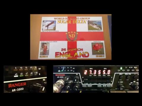 11meterdx Wagga Live Stream 1/2/2018 (27mHz Aussie CB radio) Ranger AR-3500