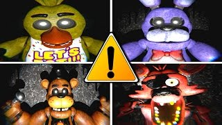 Five Nights at Freddy's 3D ALL JUMPSCARES
