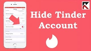 How To Hide Tinder Account Without Deleting It