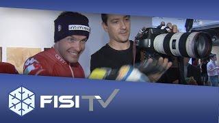 Backstage photoshooting FISI