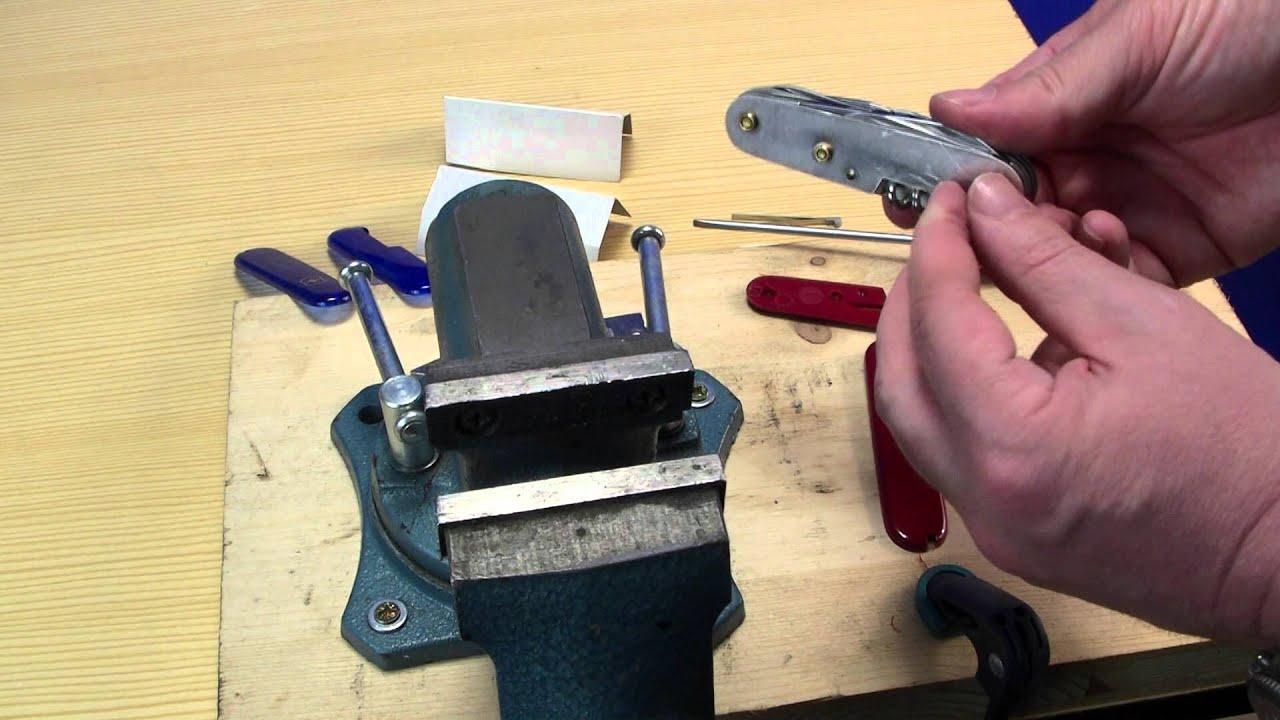 Victorinox Schweizer Messer Schalen Tauschen Www