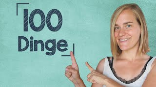 German Lesson (105) - Listening Comprehension: 100 Things Jenny Likes and Doesn't Like - A2/B1