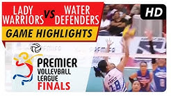 Lady Warriors vs. Water Defenders | Game Highlights | PVL Finals | June 13, 2017
