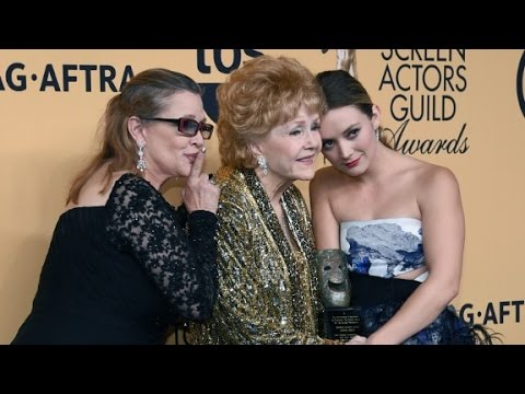 Carrie Fisher's daughter talks famous upbringing