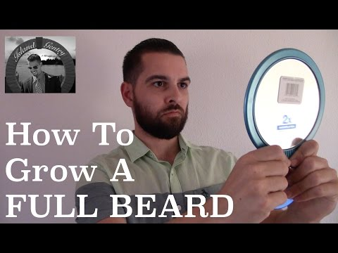 How To Grow A FULL Beard! | 10 Awesome Tips